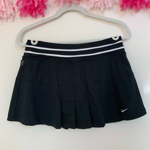 Nike Skirts - Black and White Tennis Skirt